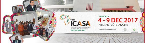 """19ième CONFERENCE INTERNATIONAL SUR LE SIDA ET LES IST EN AFRIQUE """"ICASA 2017"""""""