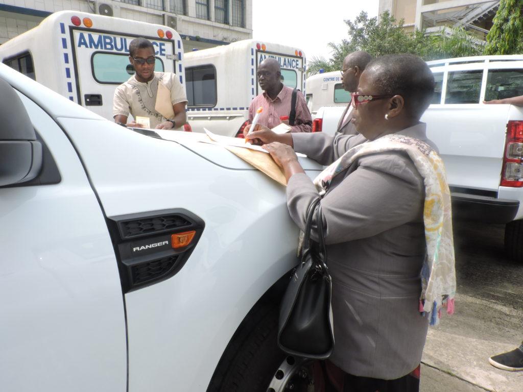 Reception du vehicule