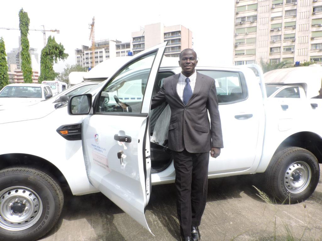 Vehicule DDS Bassam