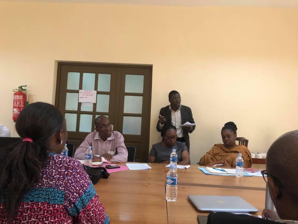 Réunion de coordination du secteur communautaire