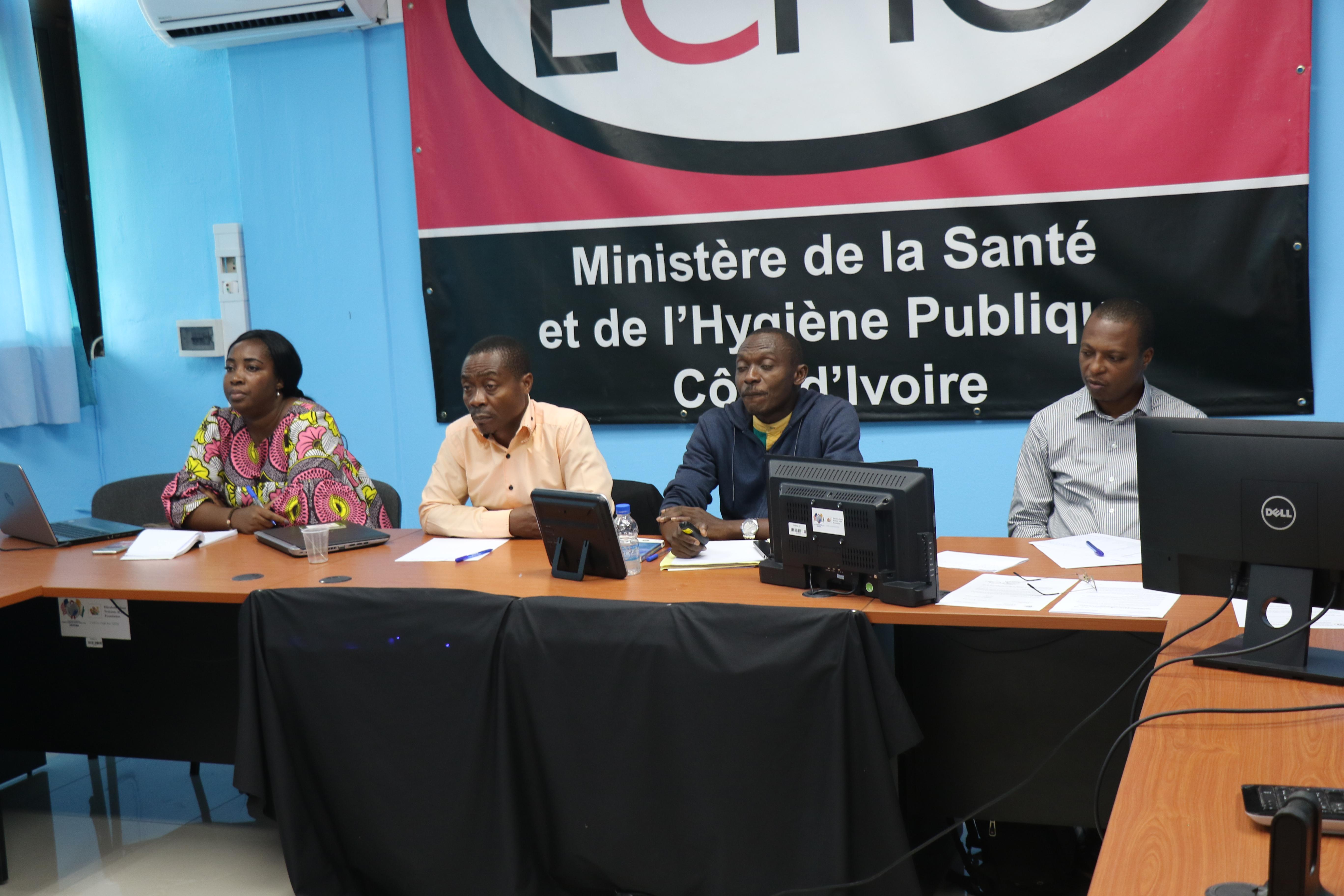 Session d'orientation sur les nouvelles directives 2019 pour le traitement de l'infection à VIH.