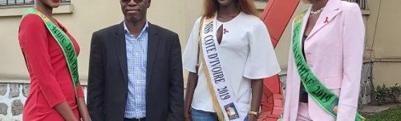 MISS Côte d'Ivoire 2019 s'engage dans la lutte contre le sida