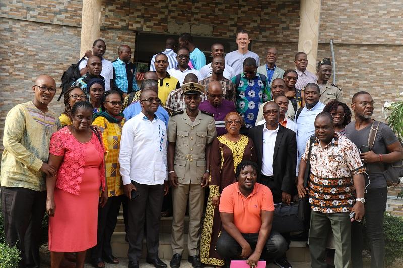 Atelier d'élaboration du cadre de résultat du PSN 2021-2025 de lutte contre l'infection des IST, du VIH, du sida en Côte d'Ivoire du 03 au 06 mars 2025 à Jacqueville